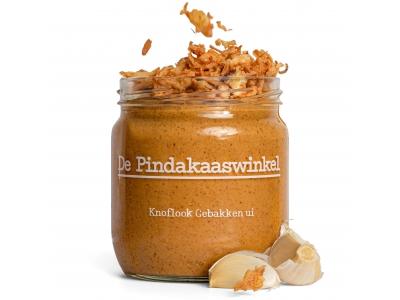 Erdnussbutter-Knoblauch-Röstzwiebeln